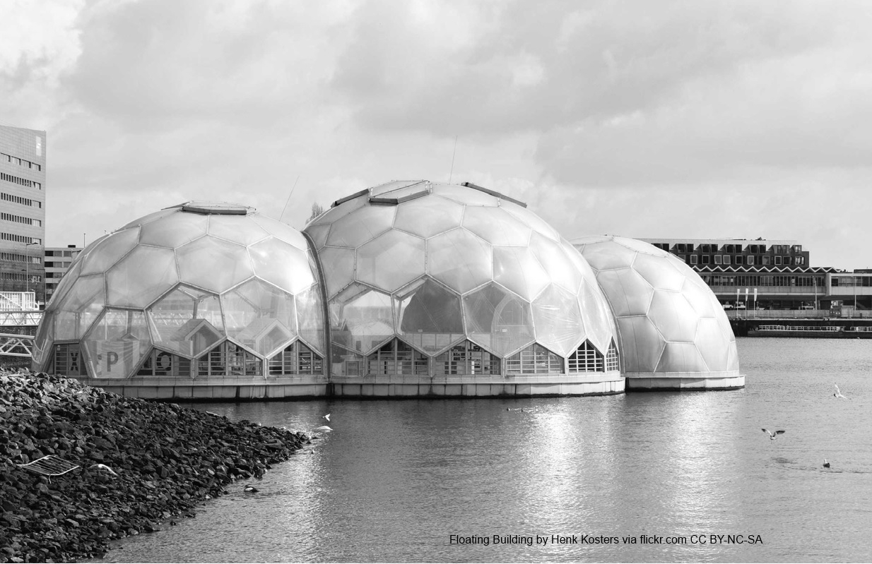 Floating Building by Henk Kosters via flickr.com CC BY-NC-SA